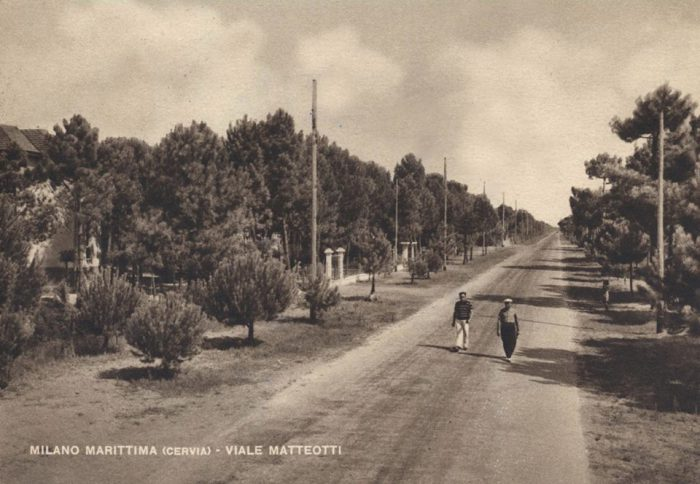 Viale Matteotti milano marittima