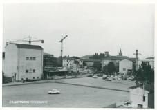 piazza del mercato anni 70 cervia