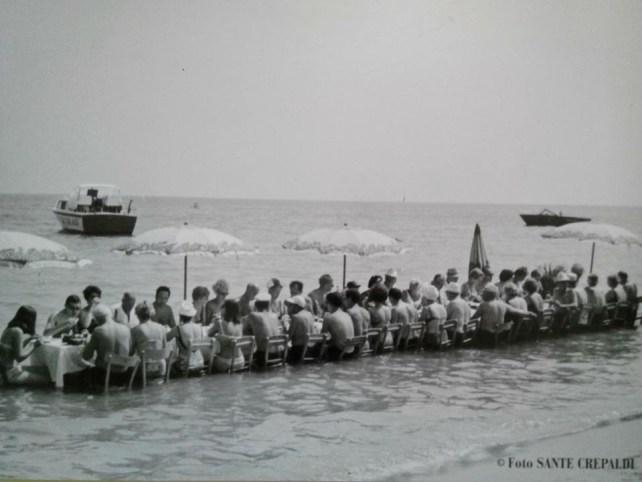 A pranzo nel mare con Silvano Collina