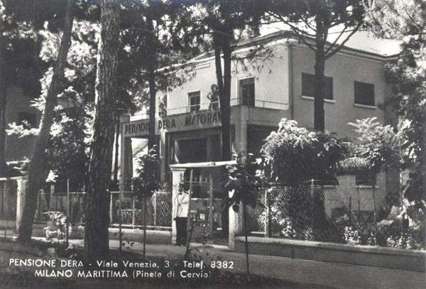 Pensione Dera - Viale Venezia, Fam. Scacchi (oggi appartamenti)