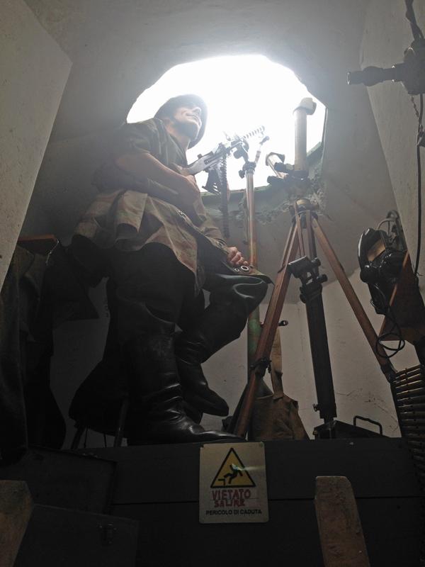 Restauro del bunker a Cesenatico
