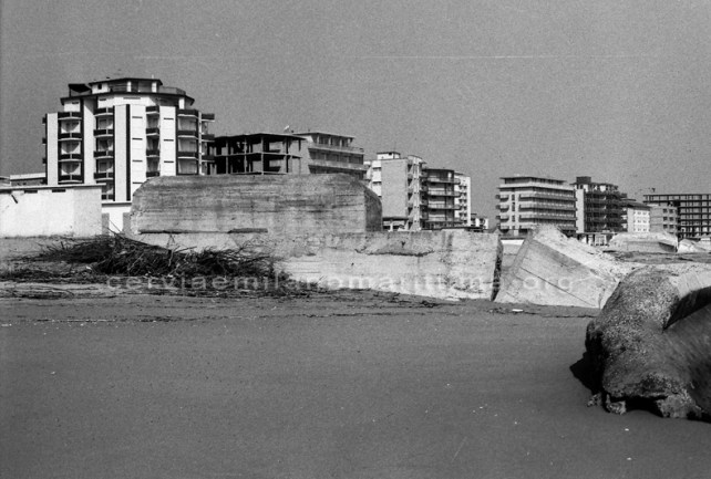 Bunker tedeschi Cervia e Milano Marittima