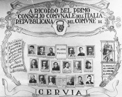 Primo consiglio comunale del Dopoguerra