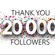 20.000 grazie!
