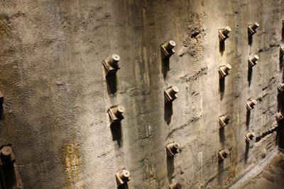 il muro cervese delle torri gemelle