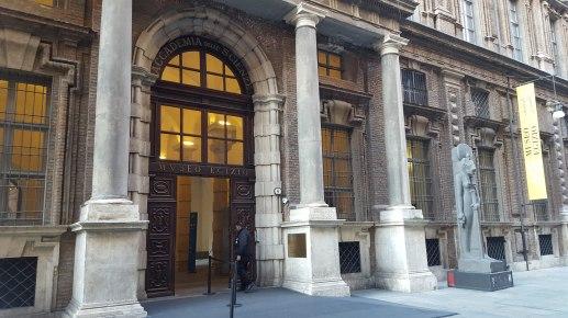 Museo Egizio - Ingresso