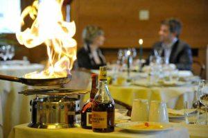 Sala ristorante Lampada