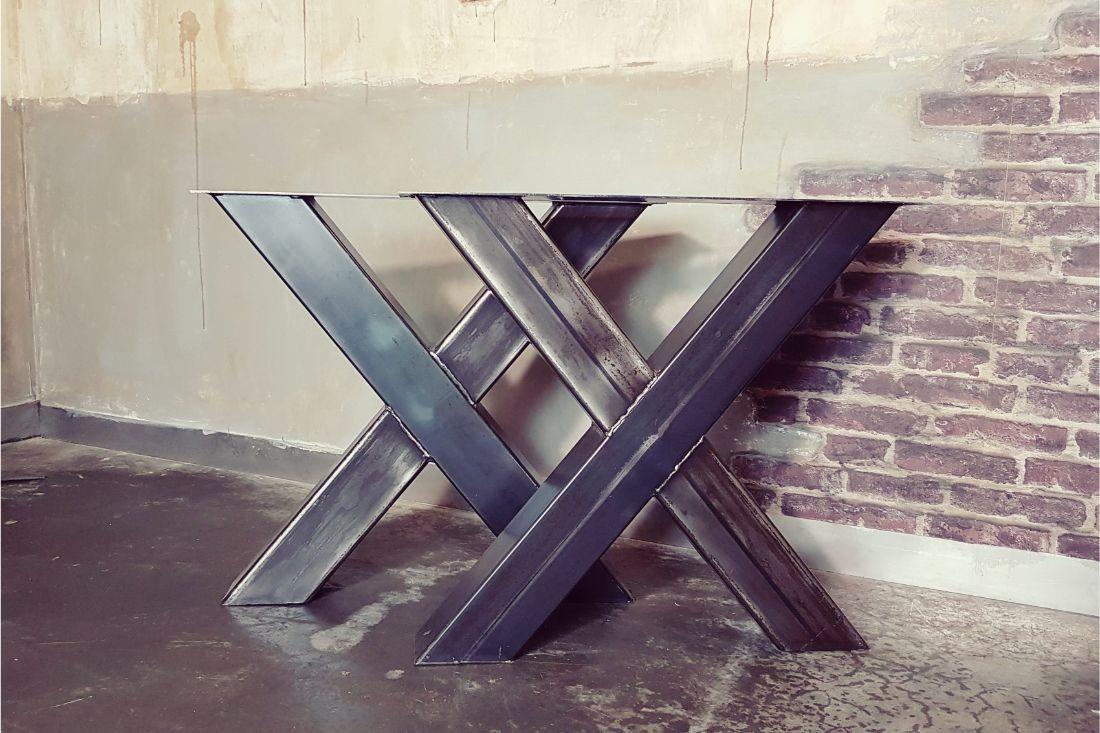 table de cuisine industrielle