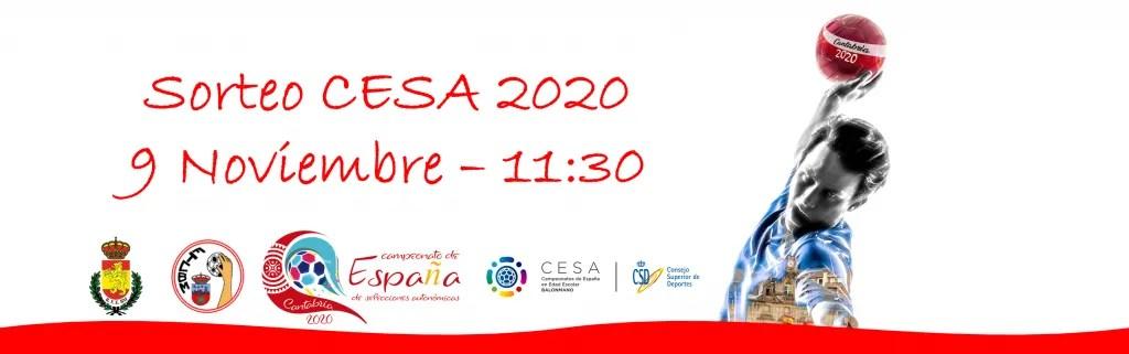 Retransmisión del sorteo del CESA 2020
