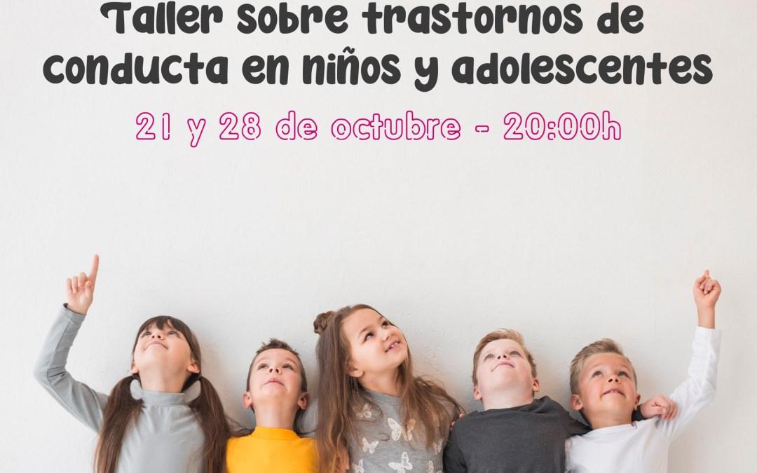 Taller Trastornos de Conducta en Niños y Adolescentes