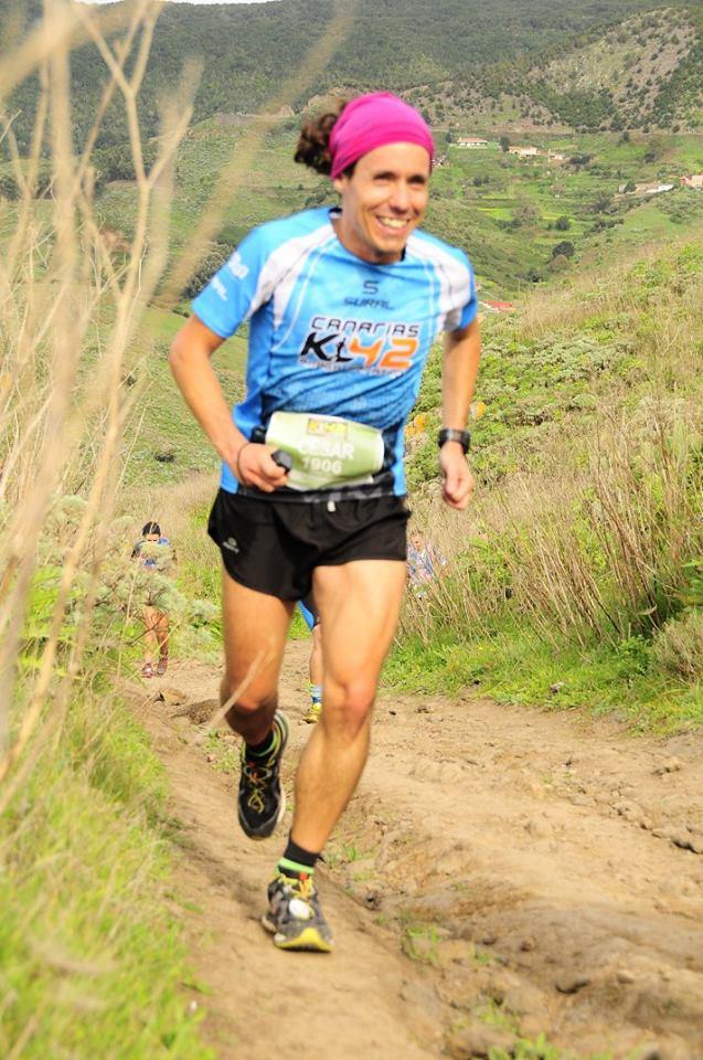 Sar disfrutando de la K42 Anaga Marathon