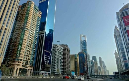 Avenida principal Dubai