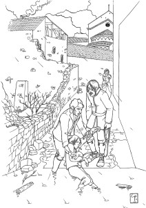 Illustration_hitorique-inondations_musée_Besalú