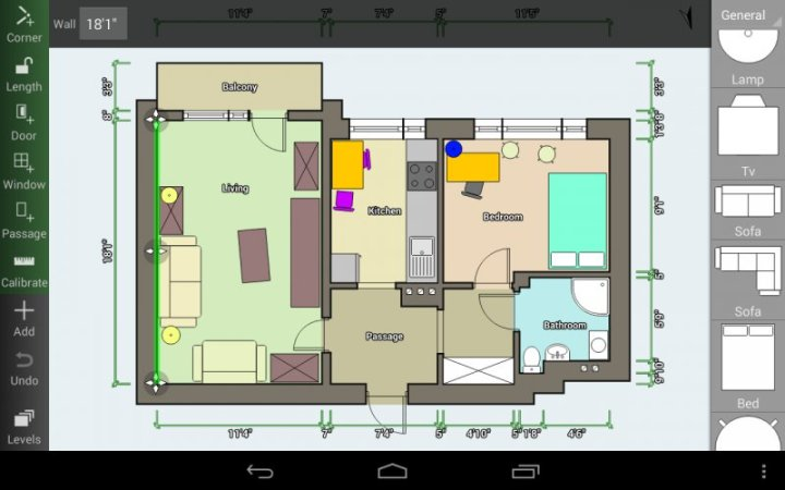 Floor Plan Creator   Create Detailed and Precise Floor Plans App for     Floor Plan Creator screenshot