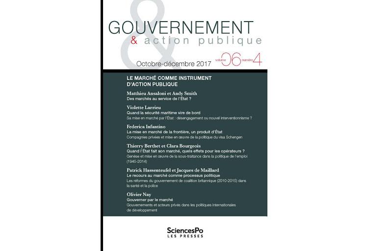 Le recours au marché comme processus politique. Les réformes du gouvernement de coalition britannique (2010-2015) dans la santé et la police