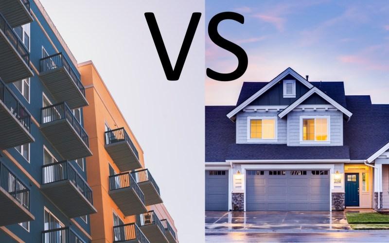 Apartment vs House GFX