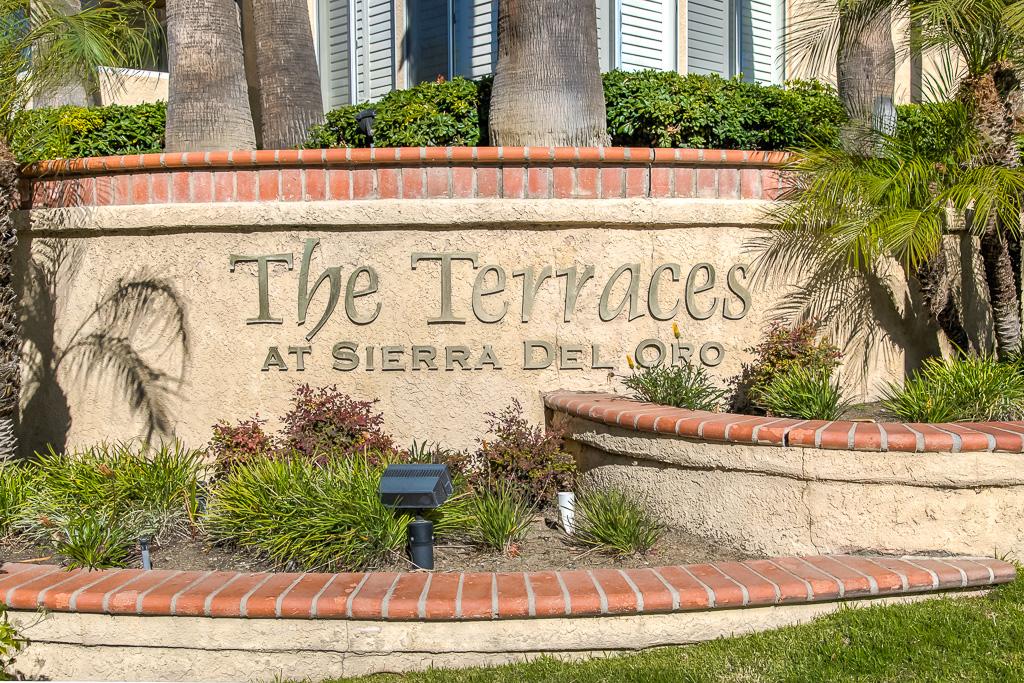 Neighborhood sign Corona