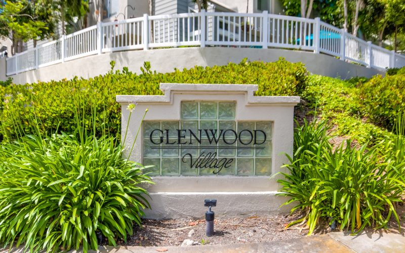 Glenwood Village Sign Aliso Viejo