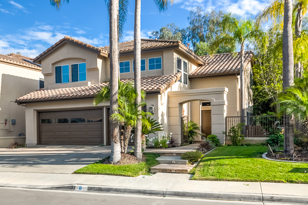 Front of home Laguna Niguel