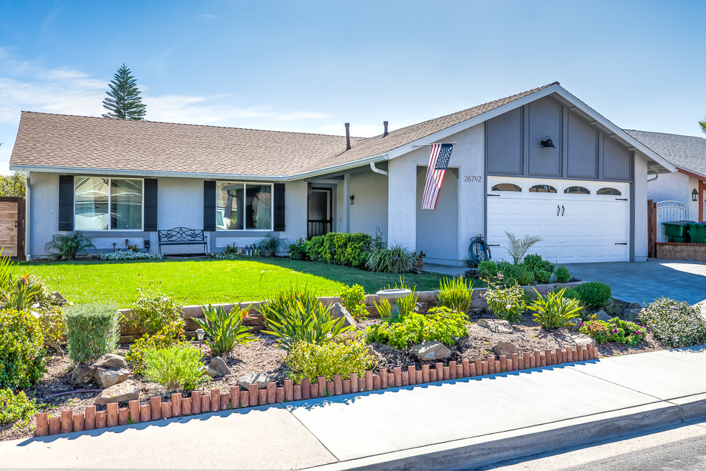 Front of Home Mission Viejo