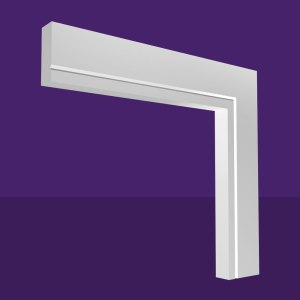Single V Groove Architrave
