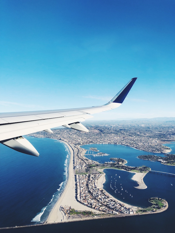 Flying out of San Diego Airport