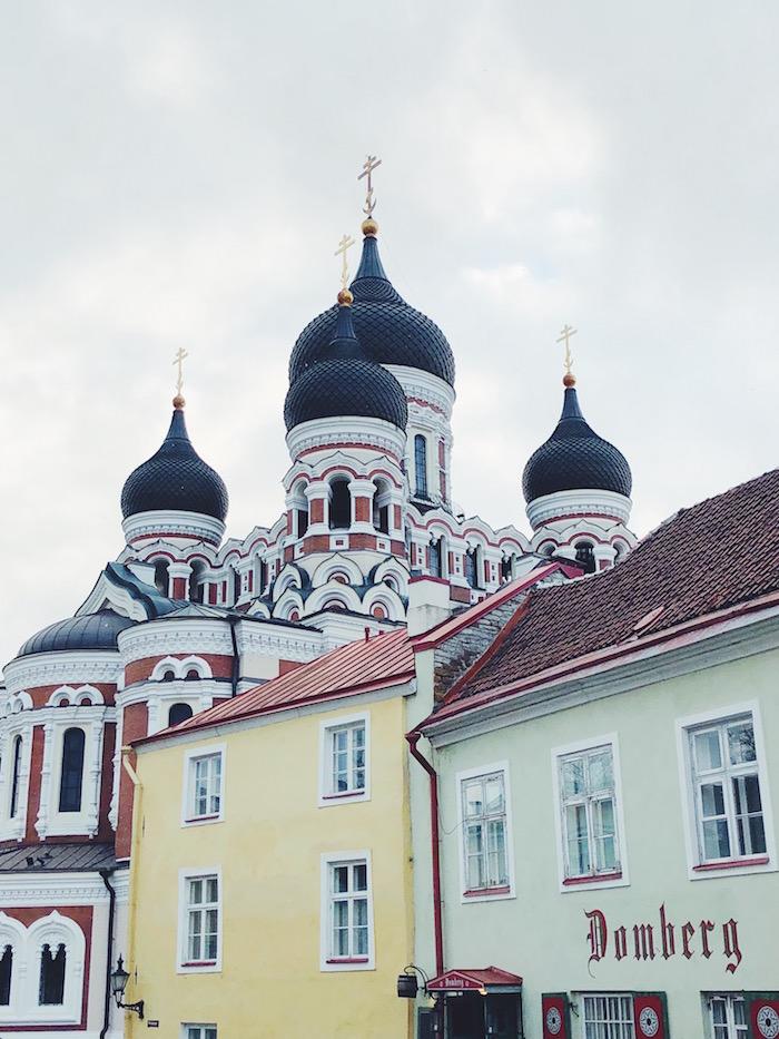 russian cathedral tallinn