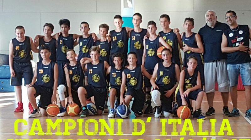 Under13 UISP: I 2004 campioni d'Italia UISP saranno premiati domenica 10 settembre