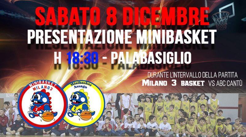 Settore Minibasket: sabato 8 al PalaBasiglio la presentazione dei Draghetti