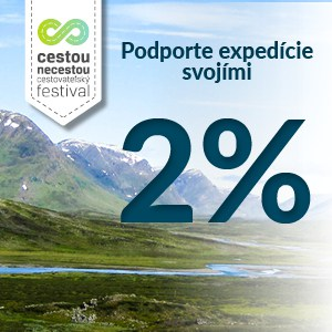 Podporte expedície svojimi 2% z daní