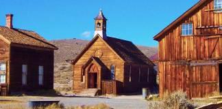 Bodie - město duchů v Kalifornii