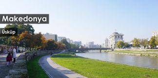 Gezi Rehberi Makedonya   sk  p Vardar Nehri 1