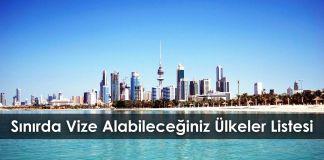 Gezi Rehberi S  n  rda Vize Alabilece  iniz   lkeler Listesi