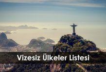 Gezi Rehberi Vizesiz   lkeler Listesi 2017