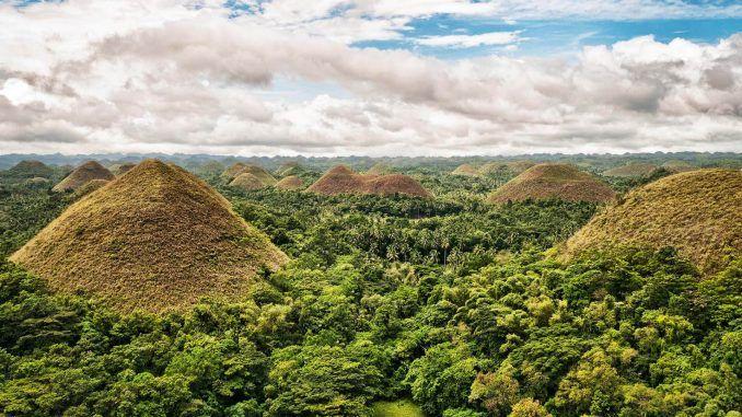 Çikolata Tepeleri, Filipinler [object object] Asya'nın 7 Doğal Harikası ikolata Tepeleri Filipinler 678x381