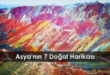Asya'nın 7 Doğal Harikası