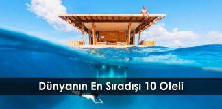 Dünyanın En Sıradışı 10 Oteli