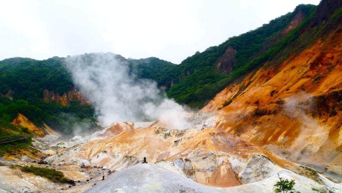 Jigokudani Vadisi, Japonya  Asya'nın 7 Doğal Harikası Jigokudani Vadisi Japonya