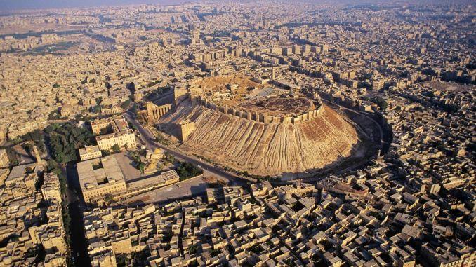 Halep Suriye dünyanın en eski yerleşim yerleri Dünyanın En Eski Yerleşim Yerleri Halep Suriye 678x381
