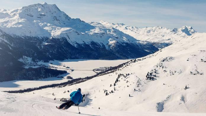 İsviçre Alpleri Kayak Merkezleri St Moritz Kayak Merkezi 696x392