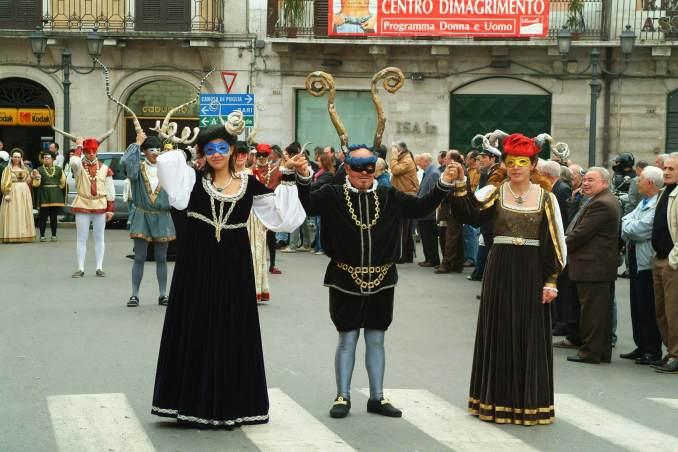Boynuzlu Şövalye Festivali İtalya