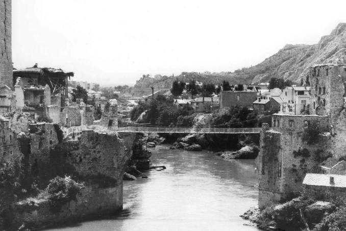 Bosna Hersek Mostar Köprüsü Tarihi
