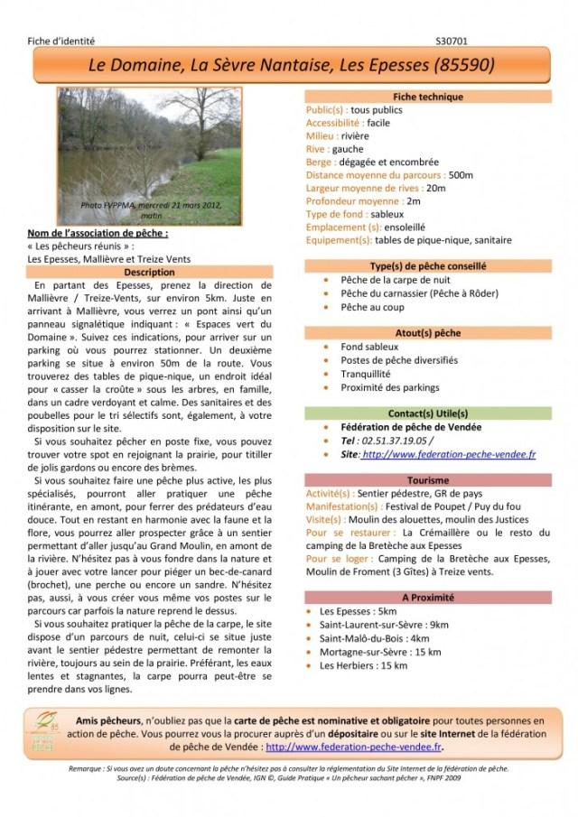 Pêche-Le domaine-La Sèvre Nantaise-Les Epesses-p1