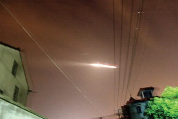 OVNI paralisa aeroporto na China