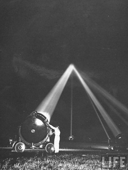 searchlights