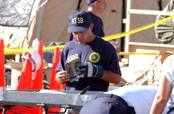 pgimeno agente NTSB ceticismo