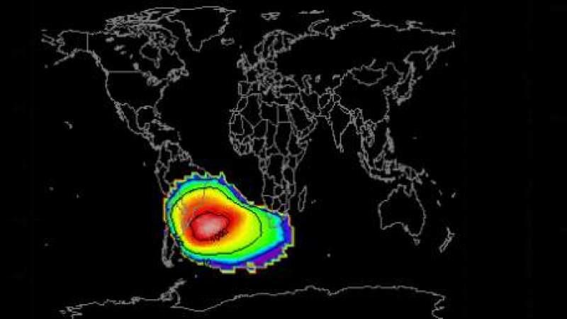 A Anomalia do Atlântico Sul