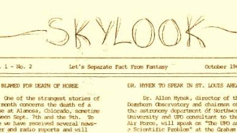 40 anos de boletins MUFON online