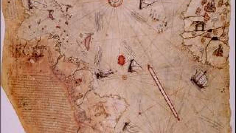 Os Antigos Mapas da Antártida