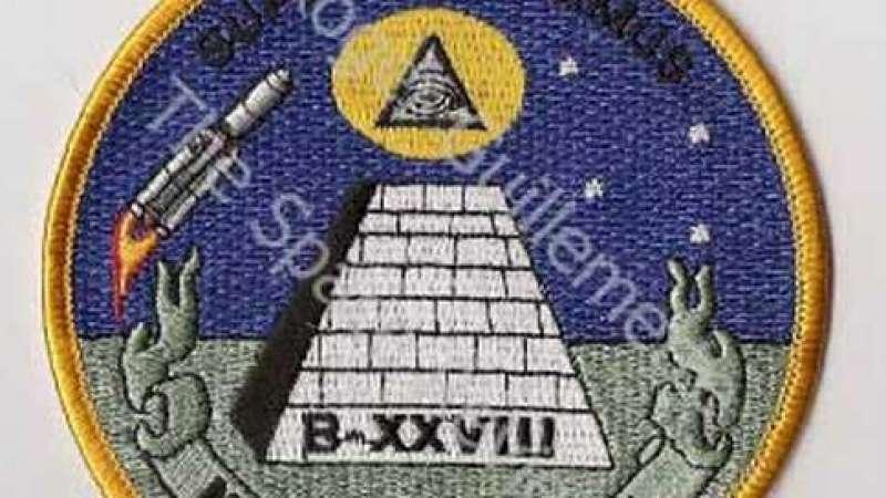 Simbologia secreta no espaço